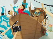 Nakrúcanie na lodi