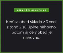# špagáti rules 2