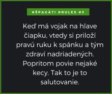 # špagáti rules 5